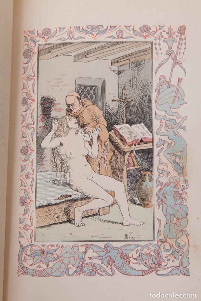 Libros antiguos: Giovanni Francesco Straparola and leon Lebegue - Les Facetieuses Nuits de Straparole - 1907 - erotis - Foto 14 - 135320602