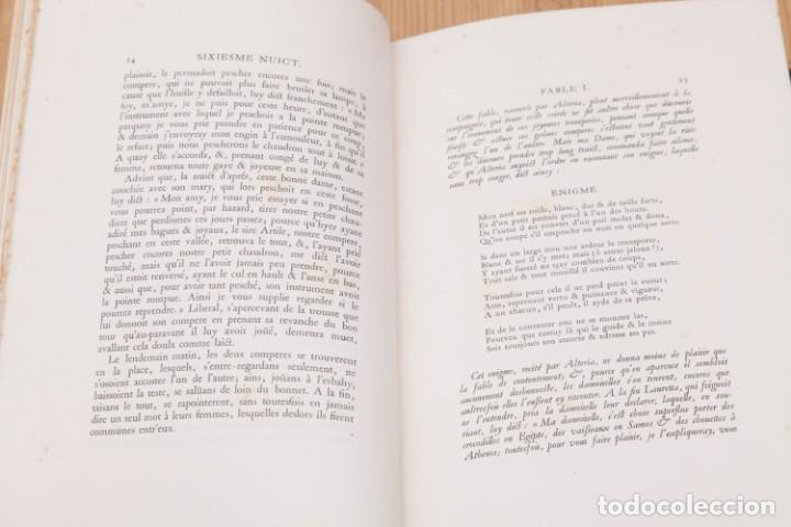 Libros antiguos: Giovanni Francesco Straparola and leon Lebegue - Les Facetieuses Nuits de Straparole - 1907 - erotis - Foto 15 - 135320602