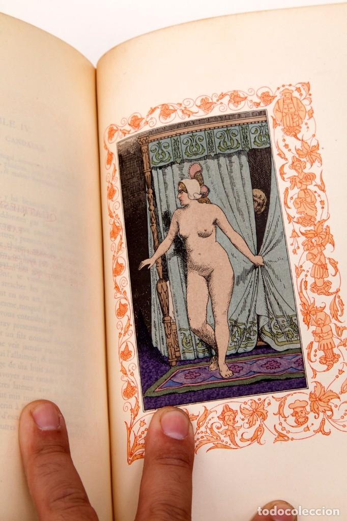Libros antiguos: Giovanni Francesco Straparola and leon Lebegue - Les Facetieuses Nuits de Straparole - 1907 - erotis - Foto 16 - 135320602