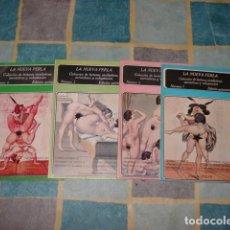Libros antiguos: LA NUEVA PERLA: COLECCIÓN DE LECTURAS SICALIPTICAS SARCASTICAS Y VOLUPTUOSAS 1 A 4, 1979, POLEN.. Lote 139800958