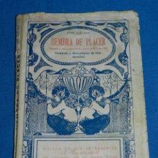 Libros antiguos: (MF) LIBRO JOHN CLALAND - HEMBRA DE PLACER ( SEGUNDA Y ULTIMA PARTE DE LAS AVENTURAS DE FANNY HILL. Lote 140227222