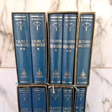 Libros antiguos: LOTE DE LA COLECCIÓN DE LIBROS EL ARCO DE EROS. Lote 140299942