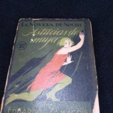 Libros antiguos: LA NOVELA DE NOCHE ASTUCIAS DE MUJER POR EDUARDO ZAMACOIS 1924. Lote 148337546