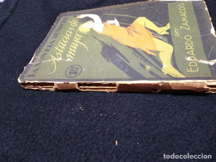 Libros antiguos: la novela de noche astucias de mujer por eduardo zamacois 1924 - Foto 2 - 148337546