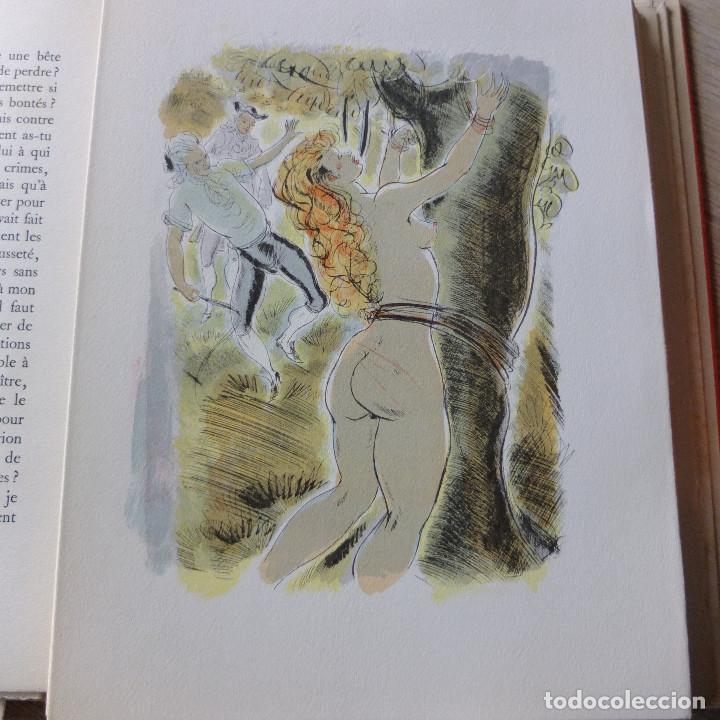 Libros antiguos: JUSTINE , MARQUES DE SADE , CURIOSA , EROTICO , GRABADOS SCHEM 1949 primera edición lujo numerada - Foto 5 - 150624502