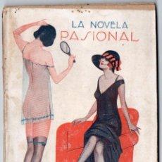 Libros antiguos: LA NOVELA PASIONAL Nº 5 - CARNE DE TRAGEDIA - PEDRO MORANTE. Lote 150980338