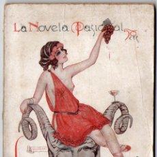 Libros antiguos: LA NOVELA PASIONAL Nº 17 - LA BACANAL - ALONSO DE SANTILLANA. Lote 150982050