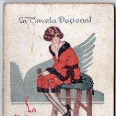 Libros antiguos: LA NOVELA PASIONAL Nº 28 - LA DIVINA POSTURA - JUAN CABALLERO SORIANO. Lote 150982590
