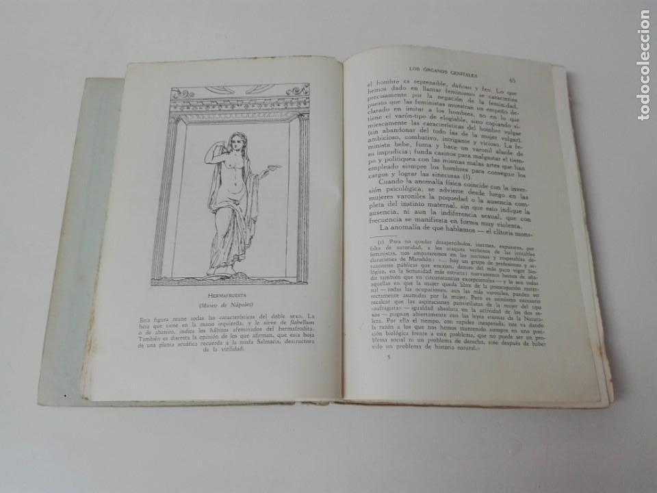 Libros antiguos: INICIACION A LA VIDA SEXUAL JUSTO MARIA ESCALANTE AÑO 1933 ILUSTRADO - Foto 4 - 154539946