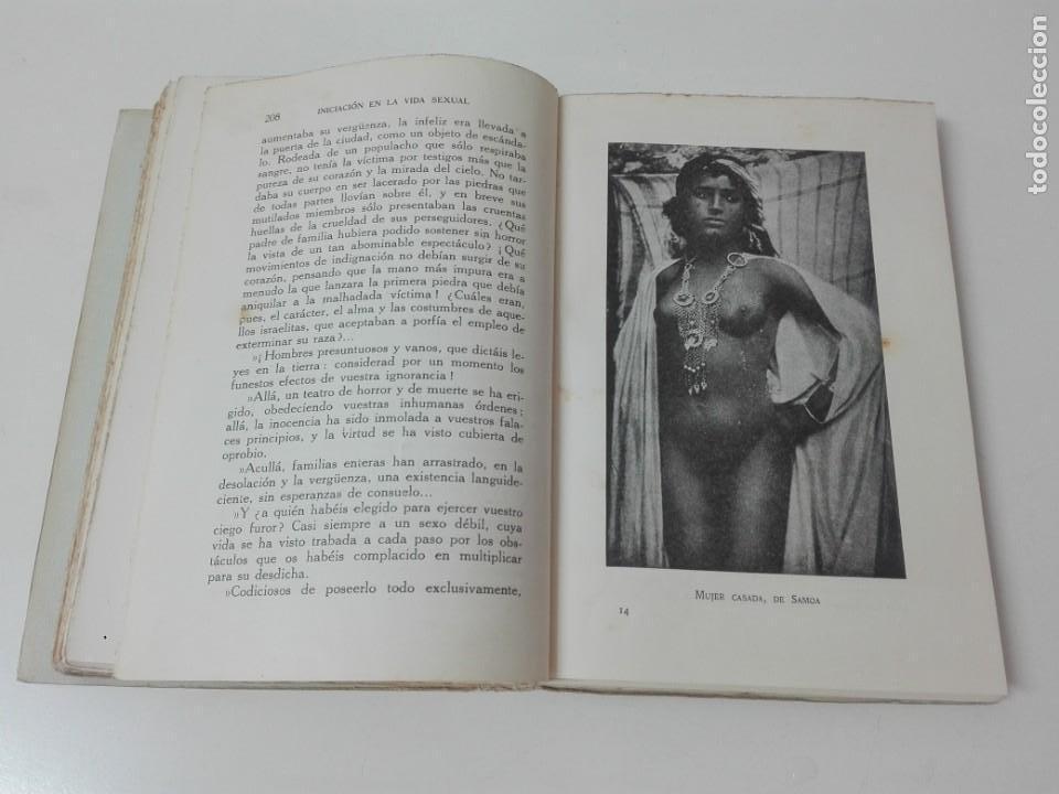 Libros antiguos: INICIACION A LA VIDA SEXUAL JUSTO MARIA ESCALANTE AÑO 1933 ILUSTRADO - Foto 7 - 154539946