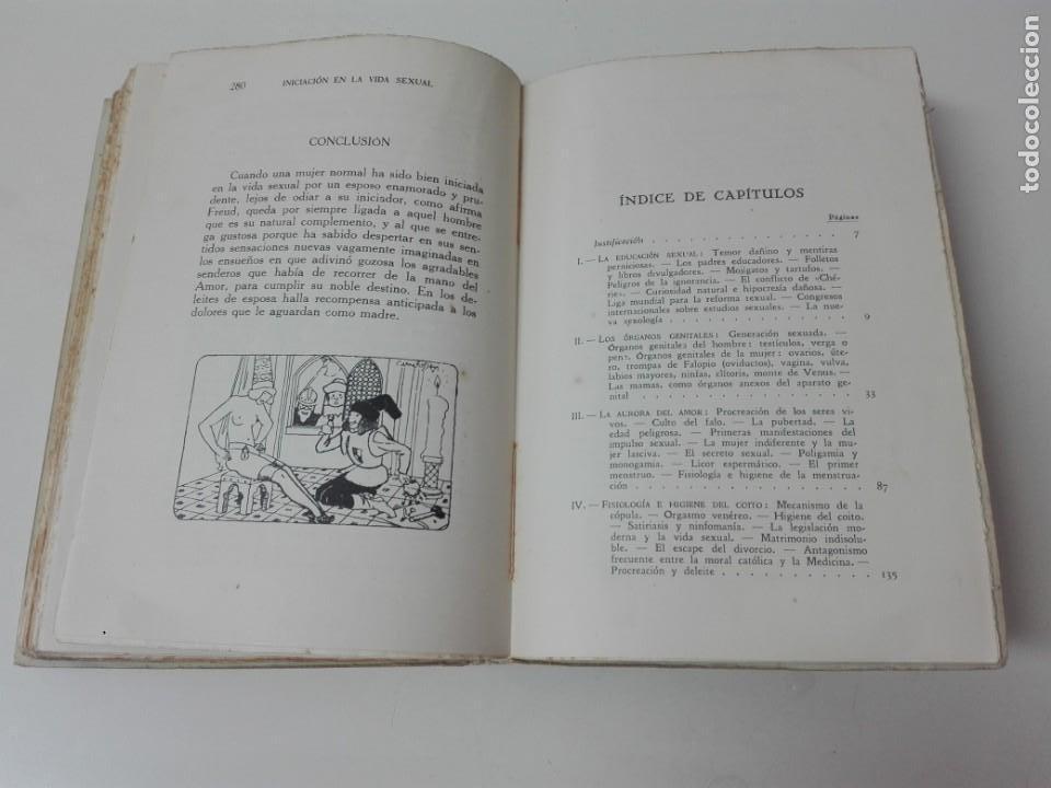 Libros antiguos: INICIACION A LA VIDA SEXUAL JUSTO MARIA ESCALANTE AÑO 1933 ILUSTRADO - Foto 8 - 154539946
