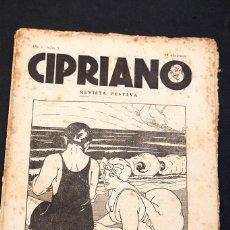 Libros antiguos: CIPRIANO - REVISTA FESTIVA - AÑO 1 - NUM. 3 - EOTISMO - EROTICA - SICALIPTICA - ILUSTRADA. Lote 154751798
