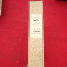 Libros antiguos: AMANDA POR YVES GANDON CON 46 DIBUJOS DE ANDRÉ DIGNIMONT (1891-1965) EN ESTUCHE, NUMERADO 737/990. Lote 156309494