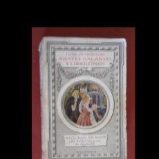 Libros antiguos: ABATES GALANTES Y LIBERTINOS. JUAN DE GRAVIGNI. Lote 156591410