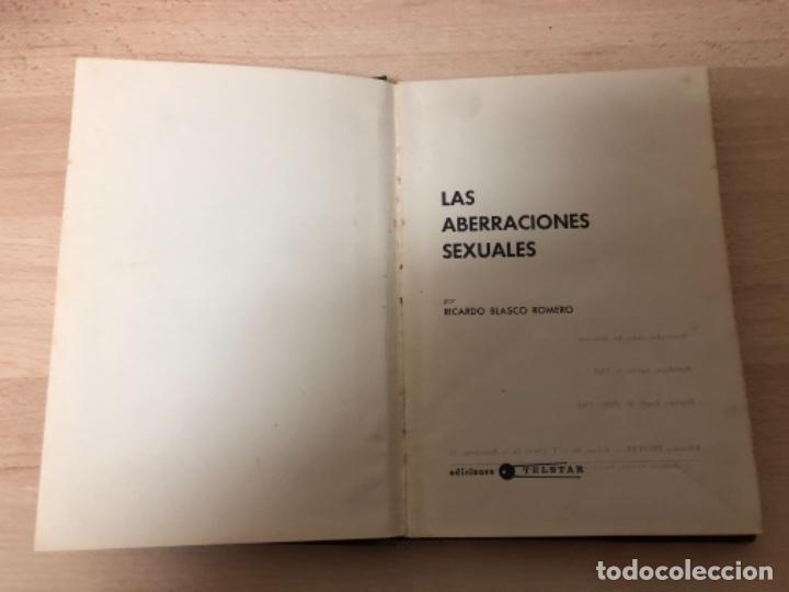 LIBRO , LAS ABERRACIONES SEXUALES , EDICIONES TELSTAR BARCELONA , AÑO 1.968 (Libros antiguos (hasta 1936), raros y curiosos - Literatura - Narrativa - Erótica)