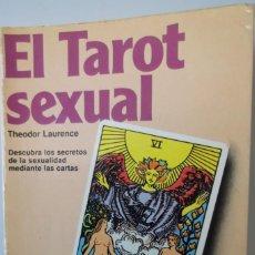 Libros antiguos: @ EL TAROT SEXUAL @ TENGA EL CONOCIMIENTO DE SU FUTURO EN EL @ SEXO @. Lote 158522274