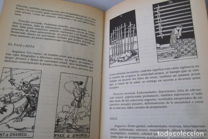 Libros antiguos: @ EL TAROT SEXUAL @ TENGA EL CONOCIMIENTO DE SU FUTURO EN EL @ SEXO @ - Foto 7 - 158522274