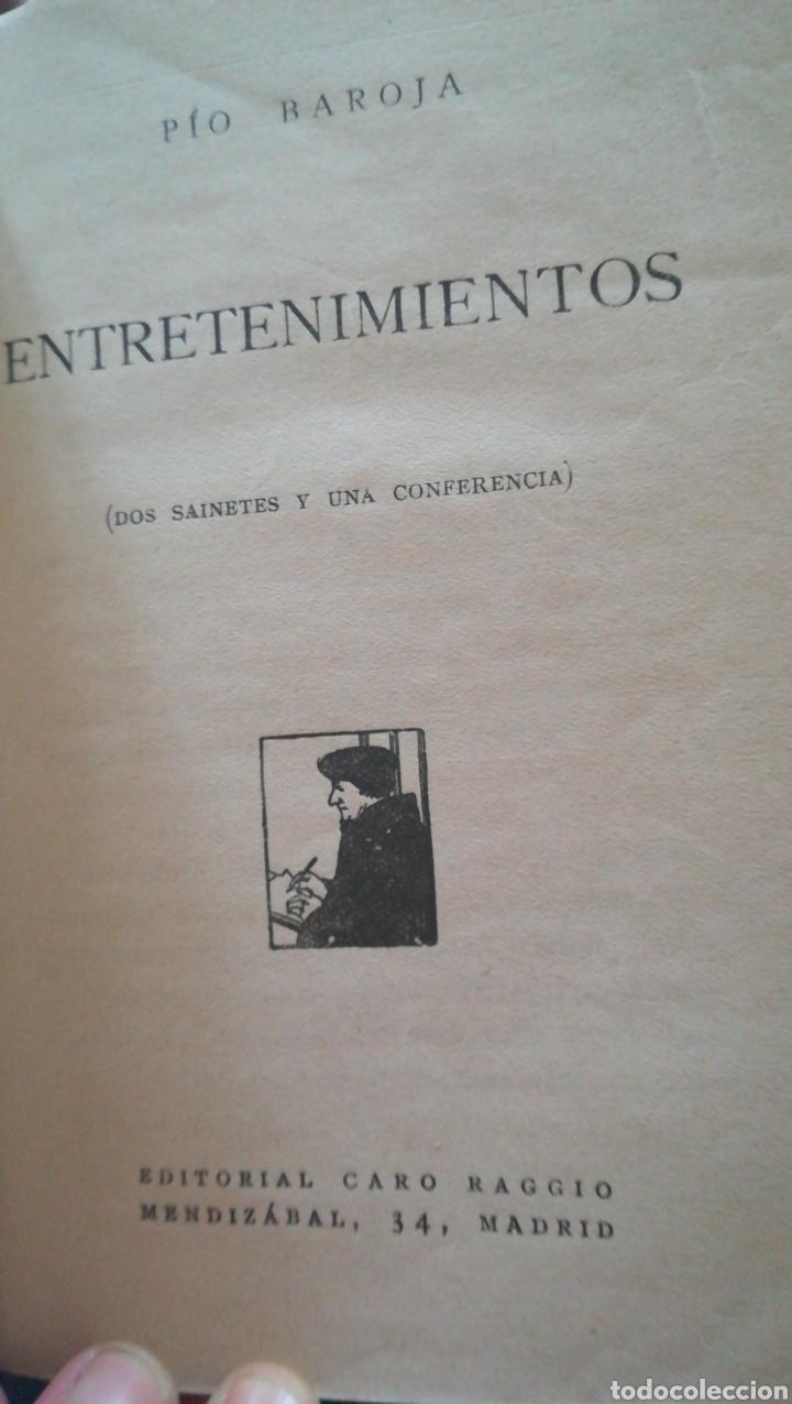 Libros antiguos: Obras de pio baroja. Entretenimientos la familia de errotacho 1931 y los amores tardios( 1926 - Foto 3 - 159834850