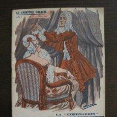 Libros antiguos: LA AVENTURA GALANTE-NOVELA EROTICA-LA CORONACION-NUM·14-VER FOTOS-(V-16.656). Lote 161388862