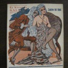 Libros antiguos: LA AVENTURA GALANTE-NOVELA EROTICA-CAMINO DEL IDEAL-NUM·12-VER FOTOS-(V-16.659). Lote 161389430