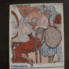 Libros antiguos: LA AVENTURA GALANTE-NOVELA EROTICA-EL ALMA MUERTA-NUM·16-VER FOTOS-(V-16.662). Lote 161389862
