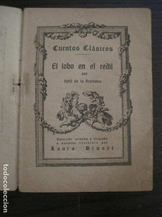 Libros antiguos: EL CUENTO CLASICO-NOVELA EROTICA-EL LOBO EN REDIL-NUM·12-VER FOTOS-(V-17.081) - Foto 3 - 165383938