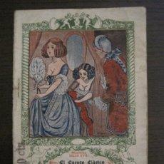 Libros antiguos: EL CUENTO CLASICO-NOVELA EROTICA-EL LOBO EN REDIL-NUM·12-VER FOTOS-(V-17.081). Lote 165383938