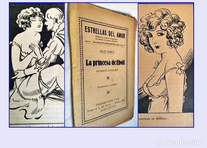 MUY ANTIGUA NOVELITA ERÓTICA ILUSTRADA. (Libros antiguos (hasta 1936), raros y curiosos - Literatura - Narrativa - Erótica)