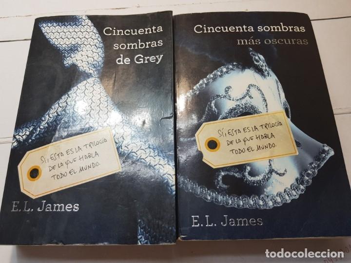 LIBROS CINCUENTA SOMBRAS DE GREY DE E.L.JAMES (Libros antiguos (hasta 1936), raros y curiosos - Literatura - Narrativa - Erótica)
