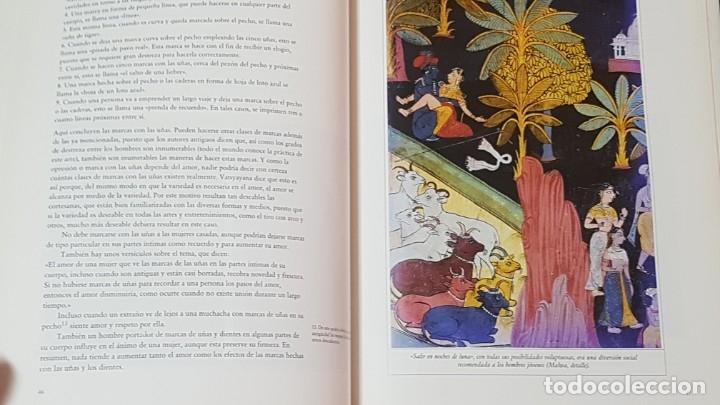 Libros antiguos: KAMA SUTRA (ANANGA-RANGA.EL JARDIN PERFUMADO ILUSTRADOS). CLÁSICOS DE LA LITERATURA ERÓTICA ORIENTAL - Foto 7 - 175284743
