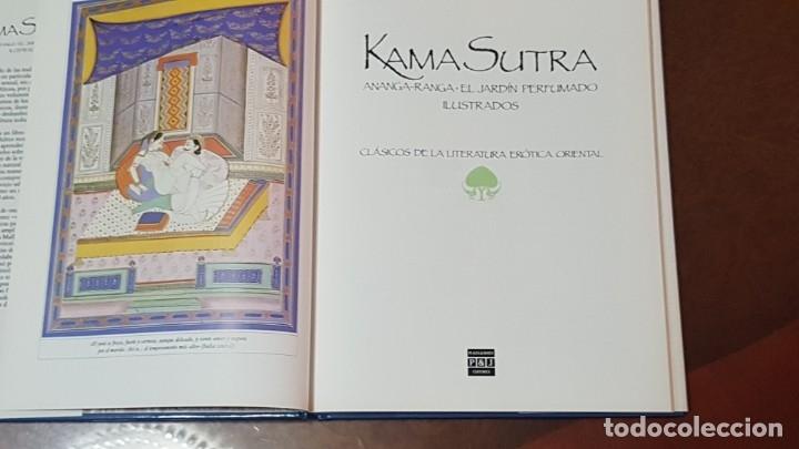 Libros antiguos: KAMA SUTRA (ANANGA-RANGA.EL JARDIN PERFUMADO ILUSTRADOS). CLÁSICOS DE LA LITERATURA ERÓTICA ORIENTAL - Foto 9 - 175284743