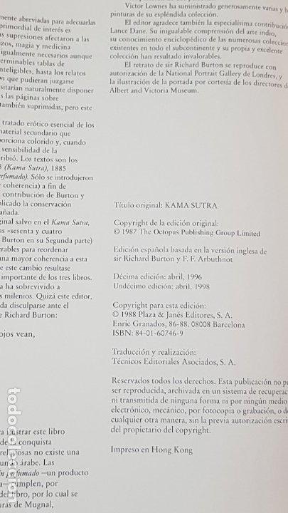 Libros antiguos: KAMA SUTRA (ANANGA-RANGA.EL JARDIN PERFUMADO ILUSTRADOS). CLÁSICOS DE LA LITERATURA ERÓTICA ORIENTAL - Foto 10 - 175284743