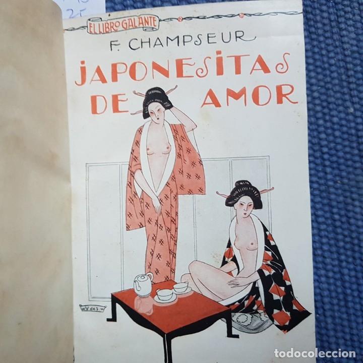 CHAMPSEUR: JAPONESITAS DE AMOR - EL HOMBRE QUE FUE CANAPÉ, UNA NOVELA LIBERTINA DEL SIGLO XVIII (Libros antiguos (hasta 1936), raros y curiosos - Literatura - Narrativa - Erótica)