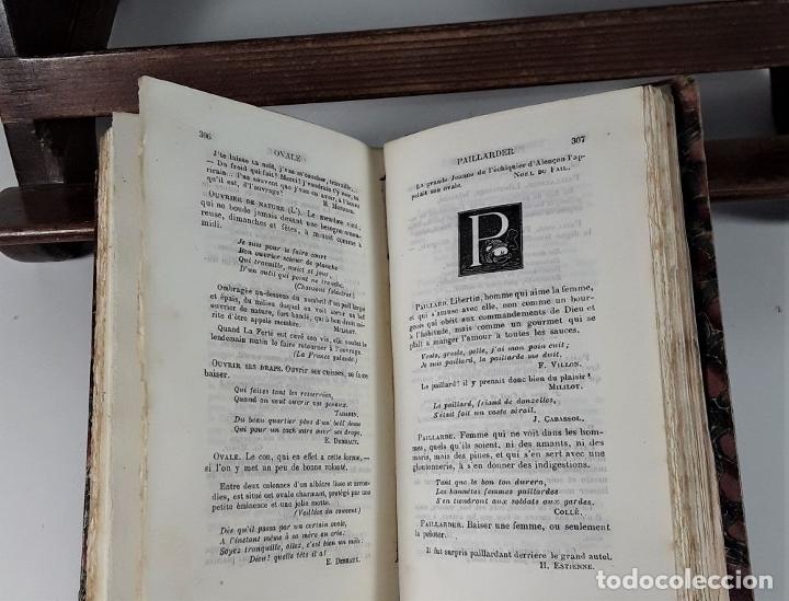 Libros antiguos: DICTIONNAIRE ÉROTIQUE NODERNE. EJEM. Nº 64. ALFRED DELVAU. IMP. NEUCHATEL. 1874. - Foto 6 - 176321359