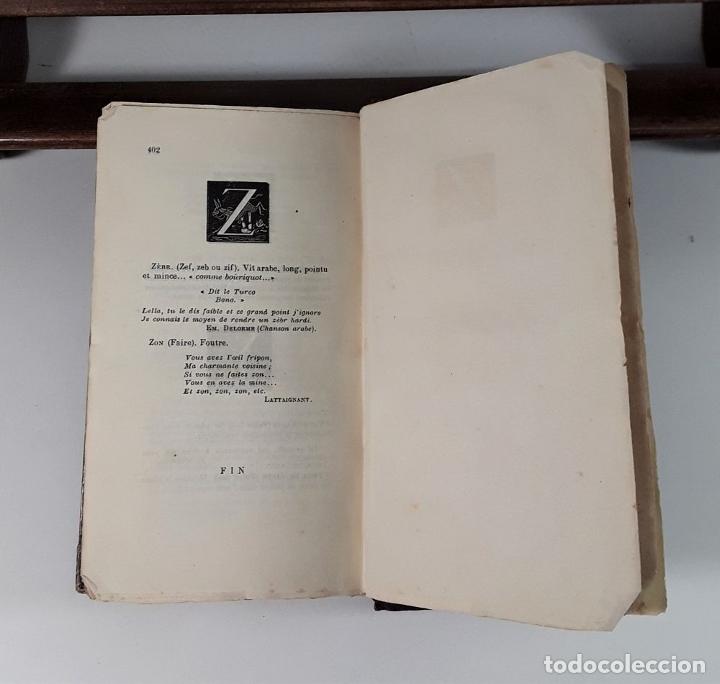 Libros antiguos: DICTIONNAIRE ÉROTIQUE NODERNE. EJEM. Nº 64. ALFRED DELVAU. IMP. NEUCHATEL. 1874. - Foto 7 - 176321359