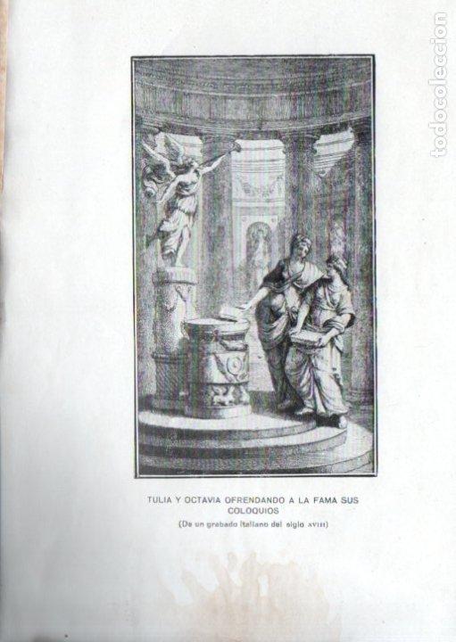 Libros antiguos: LA ACADEMIA DE LAS DAMAS PRIMERA PARTE (LÓPEZ BARBADILLO, 1922) - Foto 3 - 39631863