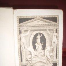 Libros antiguos: MONUMENS DE LA VIE PRIVEE DES DOUZE CESARS 1786. Lote 179036811