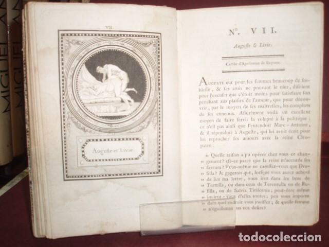 Libros antiguos: MONUMENS DE LA VIE PRIVEE DES DOUZE CESARS 1786 - Foto 2 - 179036811