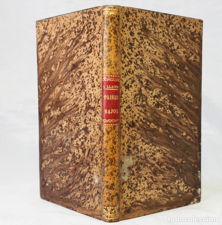 Libros antiguos: Países bajos. Descripción geográfica por Adolfo Llanos. Erótica. 1888. Ricardo Fé. - Foto 7 - 179126380