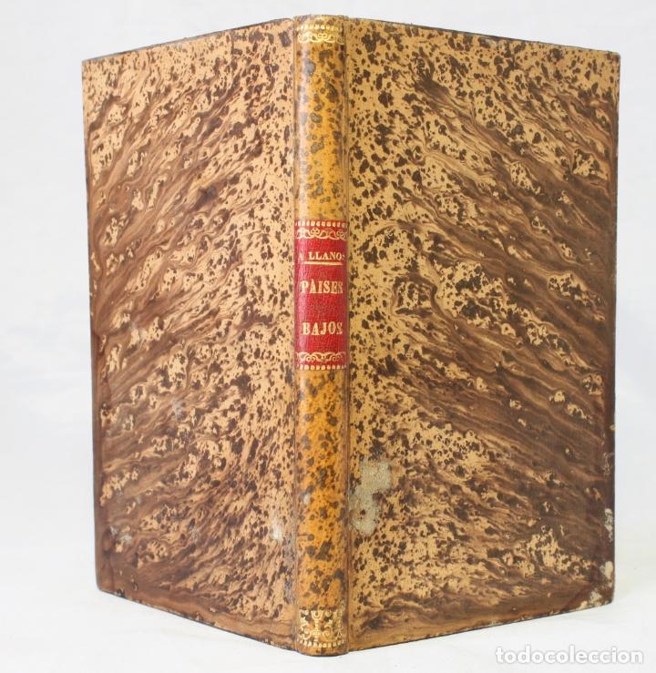Libros antiguos: Países bajos. Descripción geográfica por Adolfo Llanos. Erótica. 1888. Ricardo Fé. - Foto 8 - 179126380