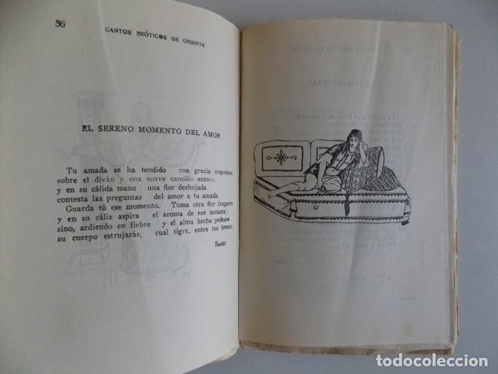Libros antiguos: LIBRERIA GHOTICA. CANTOS ERÓTICOS DE ORIENTE. VERSIÓN CASTELLANA DE PEDRO GUIRAO.1922 - Foto 4 - 179201883