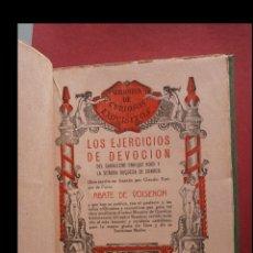 Libros antiguos: LOS EJERCICIOS DE DEVOCIÓN DEL CABALLERO ENRIQUE ROCH Y LA SEÑORA DUQUESA DE CONDOR. ABATE DE VOISEN. Lote 180166968