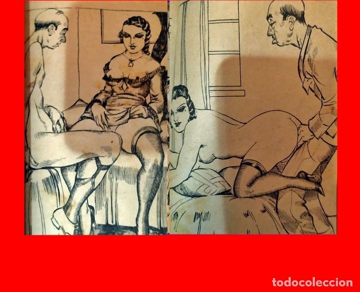 AÑOS 30. NOVELITA ESPAÑOLA CON IMÁGENES DE ALTO CONTENIDO SEXUAL. (Libros antiguos (hasta 1936), raros y curiosos - Literatura - Narrativa - Erótica)