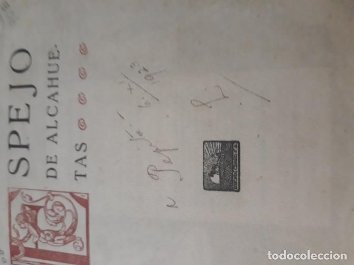 Libros antiguos: Espejo de alcahuetas. La philosophie des courtisanes. Ónix. Colección raros y exquisitos. 1920 - Foto 8 - 182551040
