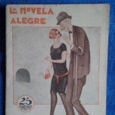 Libros antiguos: LA NOVELA ALEGRE. MEMORIAS DE UN VAGÓN DE METRO. . Lote 186100496