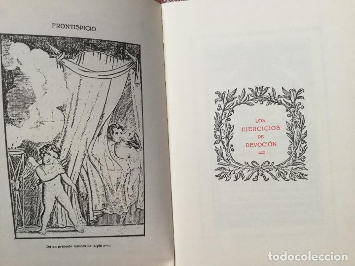 Libros antiguos: LIBRO LOS EJERCICIOS DE DEVOCIÓN de Akal Editores 1978 - Foto 3 - 186301215