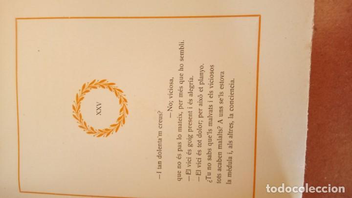 Libros antiguos: ANIGUO LIBRO,FLOR DE PICARDIA,AÑO 1914,VERSOS DE AMOR I PECADO,EROTICA-EROSTISMO,EN CATALAN,MUY RARO - Foto 3 - 190051106