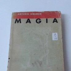 Libros antiguos: MAGIA SEXUAL TRATADO PRACTICO KREMER ILUSTRADO MUY RARO. Lote 190279990