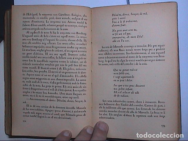 Libros antiguos: MANUELA. NOVEL·LA DEL FILM NOIES DUNIFORME.1935. CHRISTA WINSLOE. PRIMER FILM DE TEMÁTICA LÉSBICA. - Foto 4 - 191263076