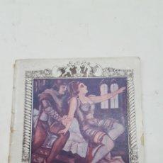 Libros antiguos: (ERÓTICA) PARABOSCO, JERÓNIMO: DOS AMIGOS FELICES. BARCELONA, SIN FECHA, AÑOS 20. EL CUENTO CLÁSICO. Lote 191891305